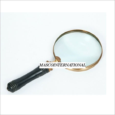 Brass Antique Magnifier