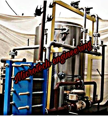 DM WATER HEATER