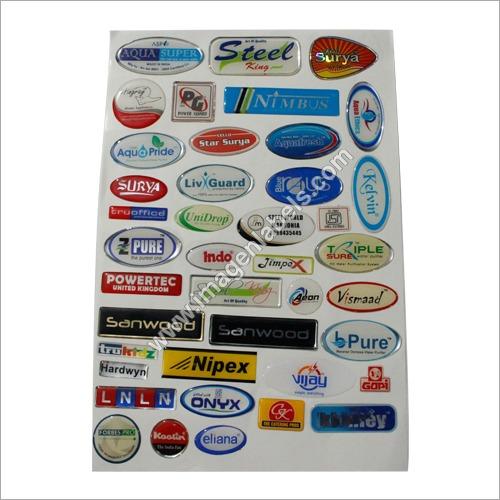 PU Epoxy Sticker