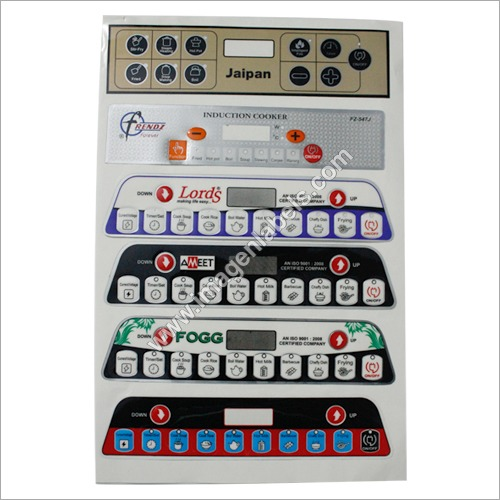 Induction Keypad Stickers