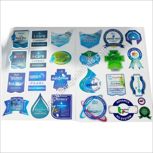 RO Water Purifier Logo Sticker