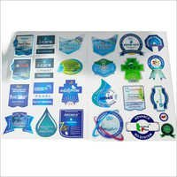 RO Water Purifier Logo Sticker