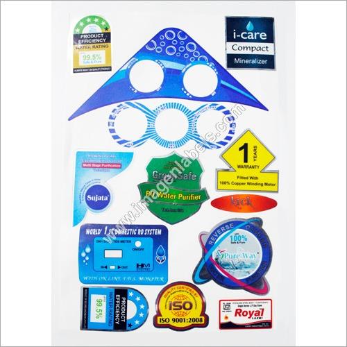 RO Water Purifier Sticker