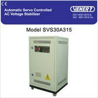 15kVA Automatic Servo Controlled Air Cooled Voltage Stabilizer