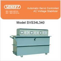 40kVA Automatic Servo Controlled Oil Cooled Voltage Stabilizer