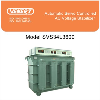 600Kva Automatic Servo Controlled Oil Cooled Voltage Stabilizer Certifications: Is 9815