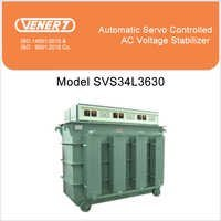 630kVA Automatic Servo Controlled Oil Cooled Voltage Stabilizer