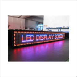 LED Moving Display Board