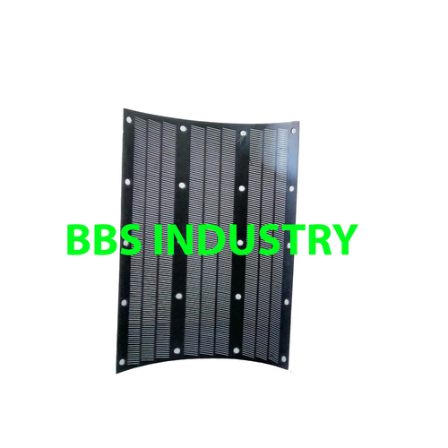Buhler Whitener screen