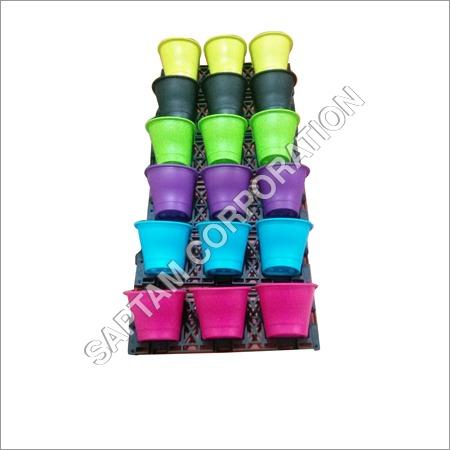 Multicolor Garden Pots