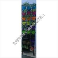 Green Wall Colour Pots