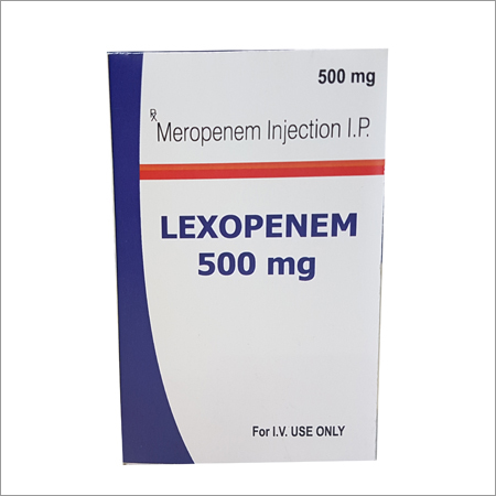 Meropenem Injection ip 500Gm