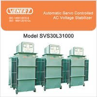 1000kVA Automatic Servo Controlled Oil Cooled Voltage Stabilizer