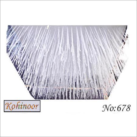 White Ribbon Ceiling Shamiyana