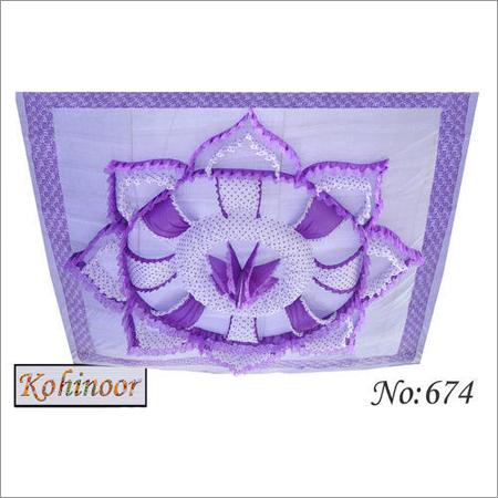Purple Ceiling Shamiyana