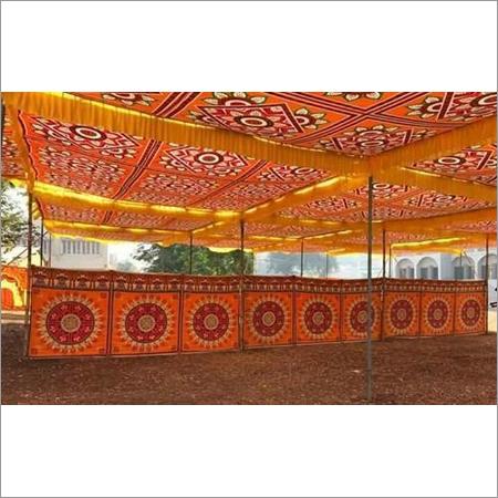 Printed Shamiyana Tent