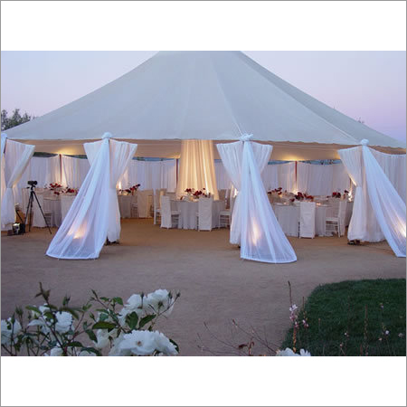 White Outdoor Canopy