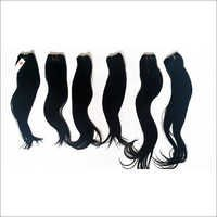 Raw Virgin Machine Weft Straight
