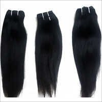 Unprocessed Virgin Machine Weft Straight