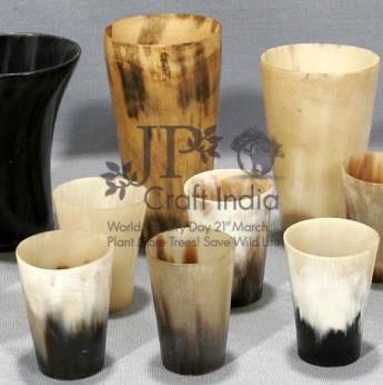 Natural Horn Glass