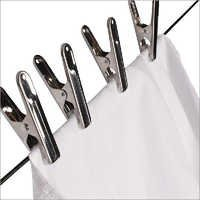 Designer Steel Cloth Clips