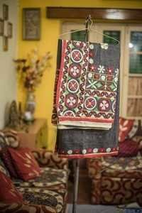 Embroidery Cotton Saree