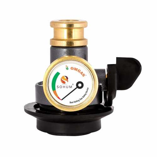 Brass and Plastic Gas Safety Device