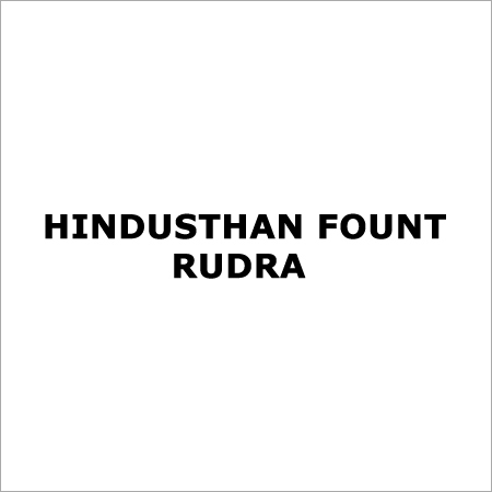 HINDUSTHAN FOUNT RUDRA