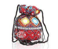 Mirror Work Designer Potli Bag