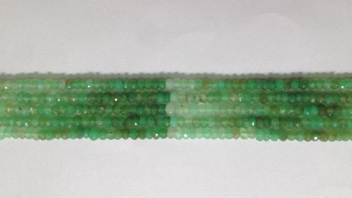 Chrysoprase Faceted Shaded