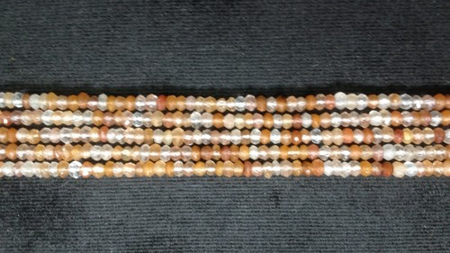 Copper Rutiled  Faceted