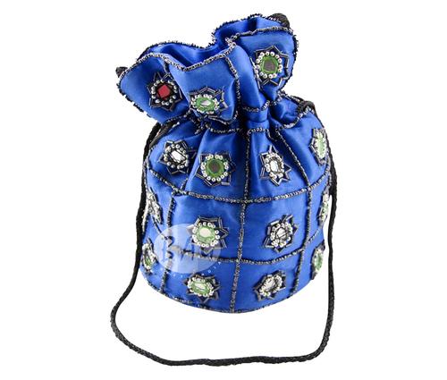 Embroidered Colorful Potl Bag