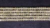 Lemon Faceted beads