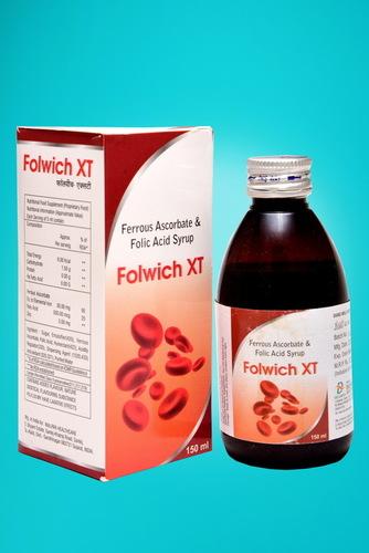 Ferrous Ascorbate + Zinc + Folic Acid
