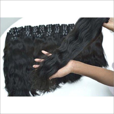 Weft Curly Human Hair