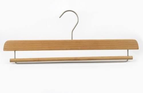 Wooden Towel Blanket Hanger with locking bar