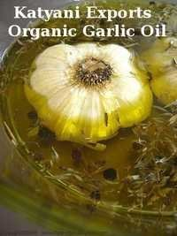 Organic Garlic Oil