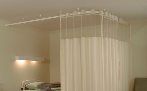 Cubical Curtain Partitions For Hospitals