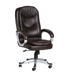 Helado Executive HB Brown Chairs