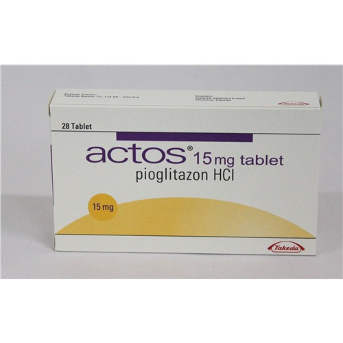 ACTOS 15 MG AND 30 MG 28 TABLETS