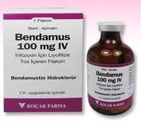 BENDAMUS 25 MG AND 100 MG -1- VIAL -BENDAMUSTINE-