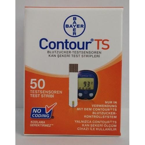 CONTOUR TS 50 TEST STRIPS