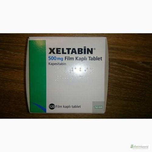 XELTABIN 500 MG 120 TABLETS -GENERIC XELODA-