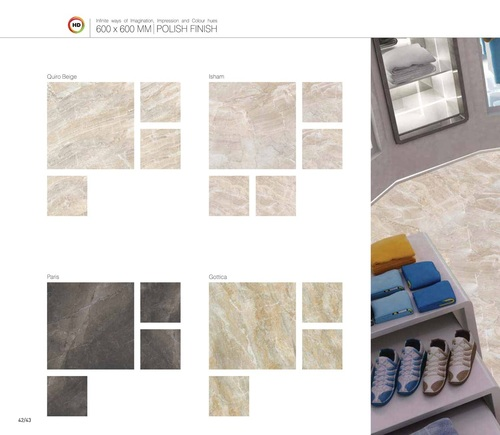 Polish Finish Marble Floor Tiles