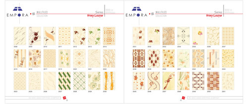 Normal Printed Wall Tiles 20x30