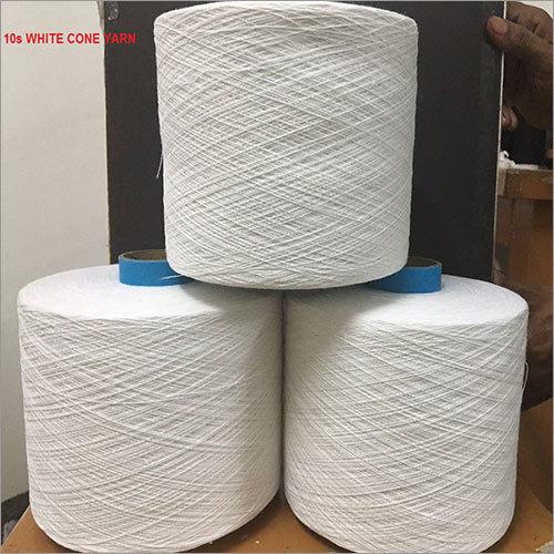 10s White Cone Yarn