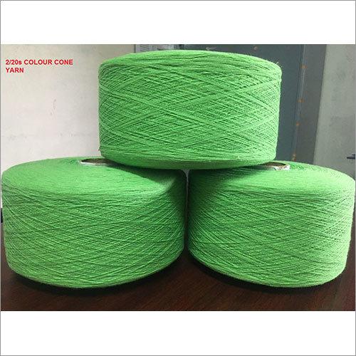 2-20s Colour Cone Yarn