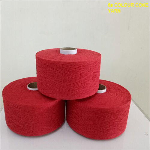 6s Colour Cone Yarn