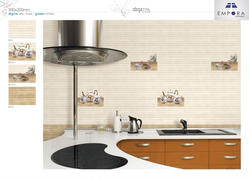 High Glossy Kitchen Tiles
