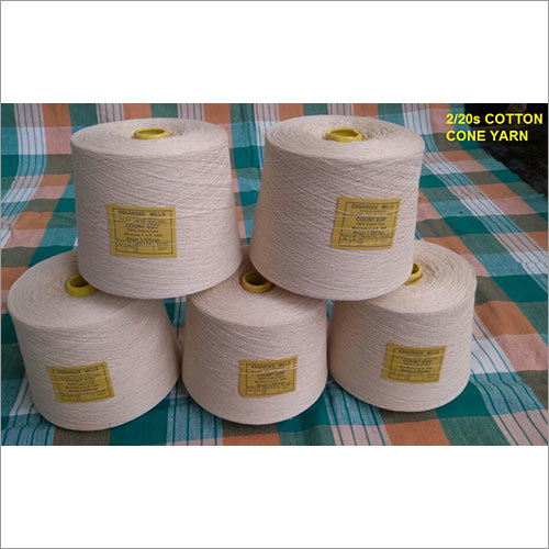 2-20s Cotton Cone Yarn